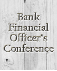 Bank Financial Officers Conference